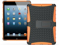 wholesale!! Kickstand heavy duty case with stand Hybird Armor Case for ipad air