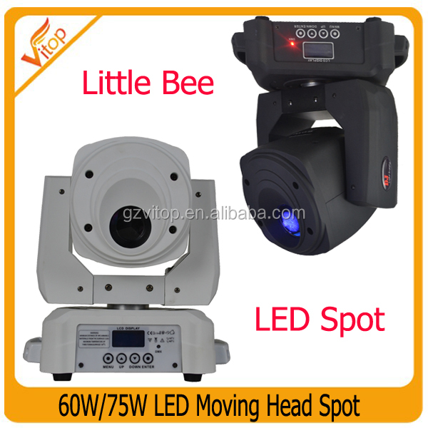 60w led spot moving head / LCD screen display moving head light / DJ equipment