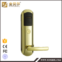 High quality magnetic smart hotel key card lock for sale