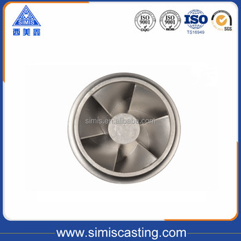 stainless steel pump impeller casting parts