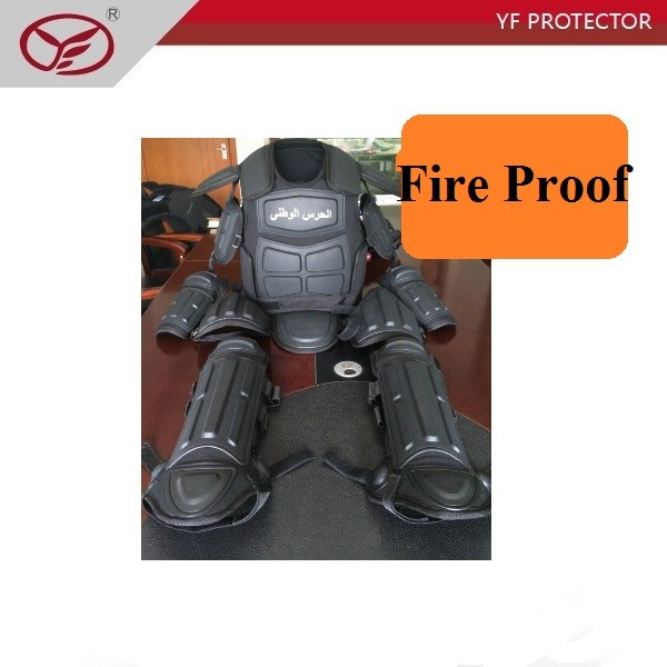NIJIIIA Fire Proof Anti Stab PC Plate gear Safety control Anti riot uniform