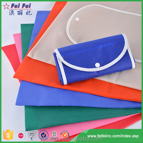 SEDEX/SGS New design beautiful non woven shopping bag foldable