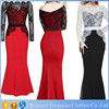 Little Red Lace Long Maxi Prom Last Formal Cocktail Evening Dress Pattern