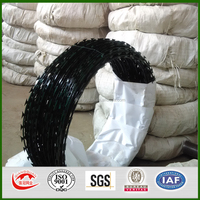 factory price for 450mm coil diameter concertina razor barbed wire-ISO9001:2008 certificate