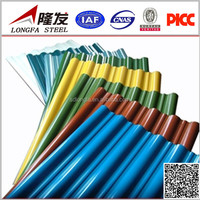 Color Coated Corrugated Steel Sheet for Roof Tile