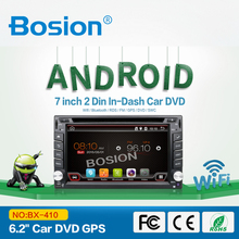 High Quality 2din 6.2inch Universal Car DVD Player with Build-in Radio GPS Bluetooth SWC 3D UI for A6
