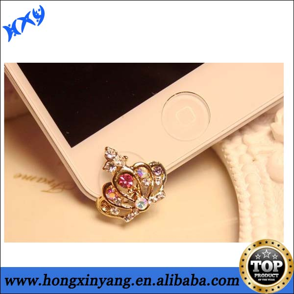 fancy girl mobile phone Dust Plug, fancy items