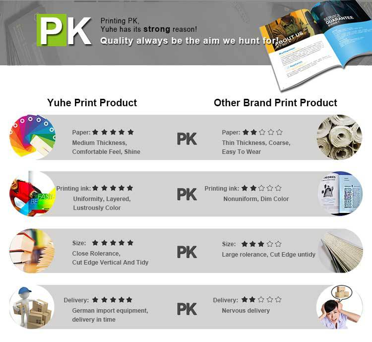 Cheap a4 catalogue printing for free sample brochure design