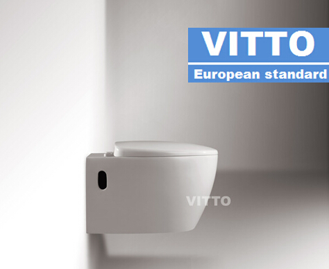 European style high quality wall hung water closet