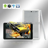 2013 new dual core pc tablet 7 inch android 4.0 with 3G and two sim card slots
