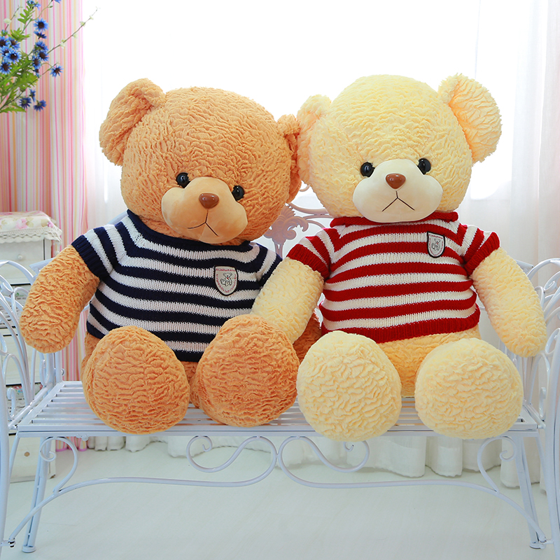 Plush Cute Sleeping Teddy Bear toys