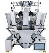 JW-A10 10 Head Multihead Weigher for biscuit,corn seeds,tablet