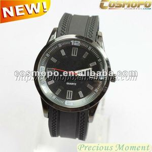 odm watches silicone for promotion