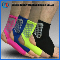 Wholesale spandex Nylon Elastic ankle supporter