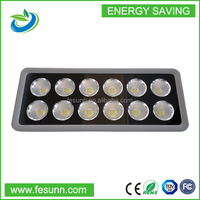 Outdoor IP65 led work light 600W with 12 head reflection cup