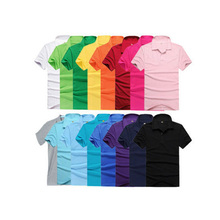 Fashion Blank Cotton Custom Wholesale Man Polo T shirt