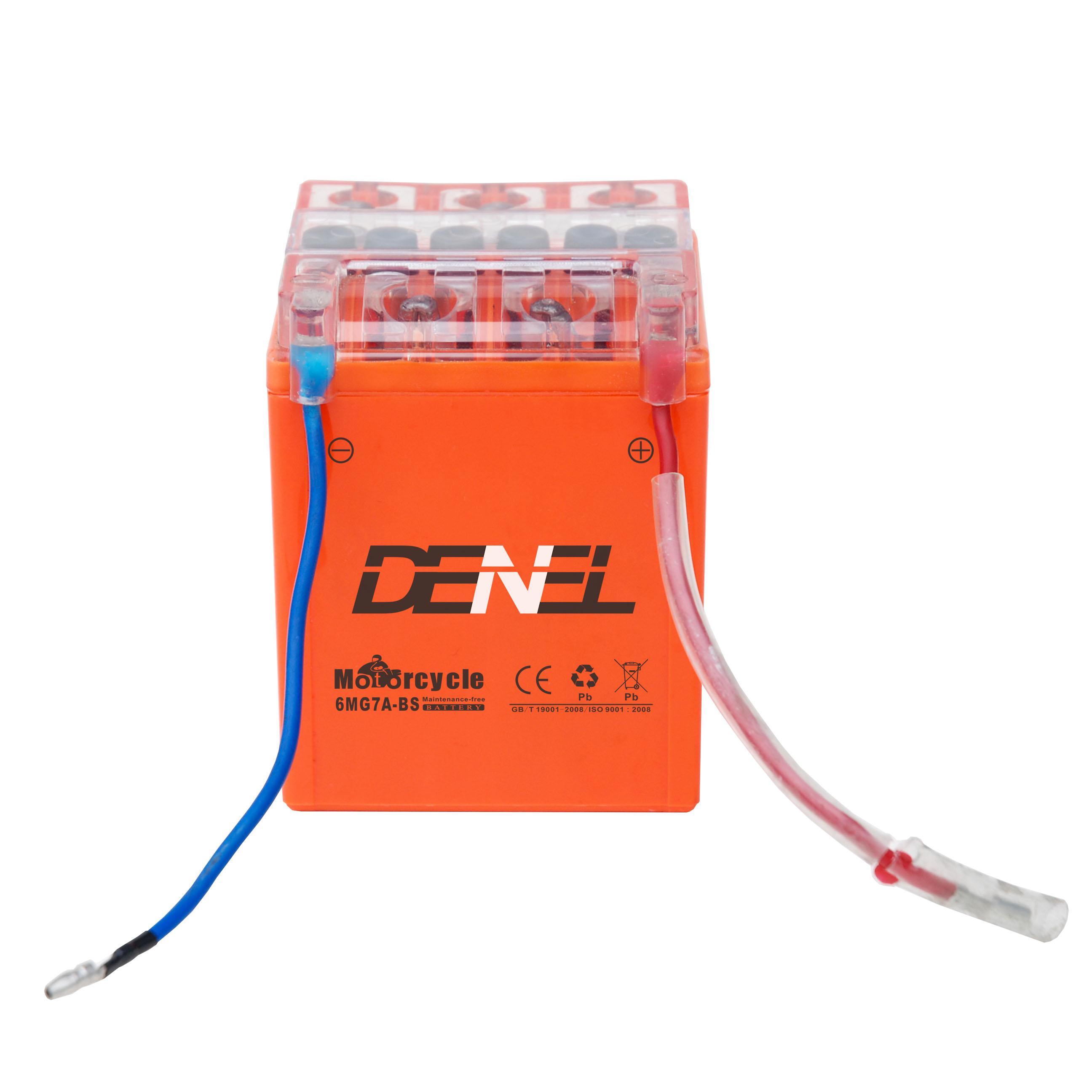 High Capacity colourful NANO GEL 12V 2.5Ah gel Motorcycle Battery
