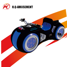 2017 indoor playground equipment electric motorcycle 2 seat go karts for children and parents