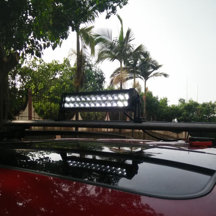Wholesale YC008 16.5inch 72W Off Road Car 4WD SUV UTV LED Light Bar