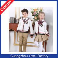 High quality kids school uniforms wholesale