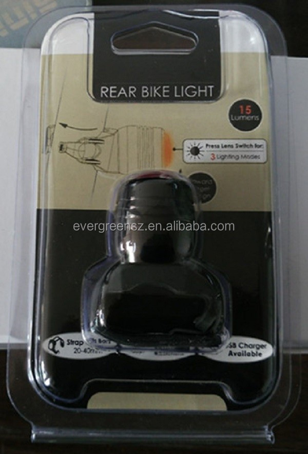 Trade Assurance Amazon Suppllier Ouro, USB Recarregável Ultra LED Brilhante Da Bicicleta Luz Da Cauda