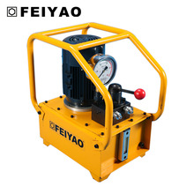 Motor driven hydraulic electrical elevator pump for wrench