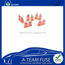 Taiwan Made auto blade fuses standard size types 40 amp car fuse