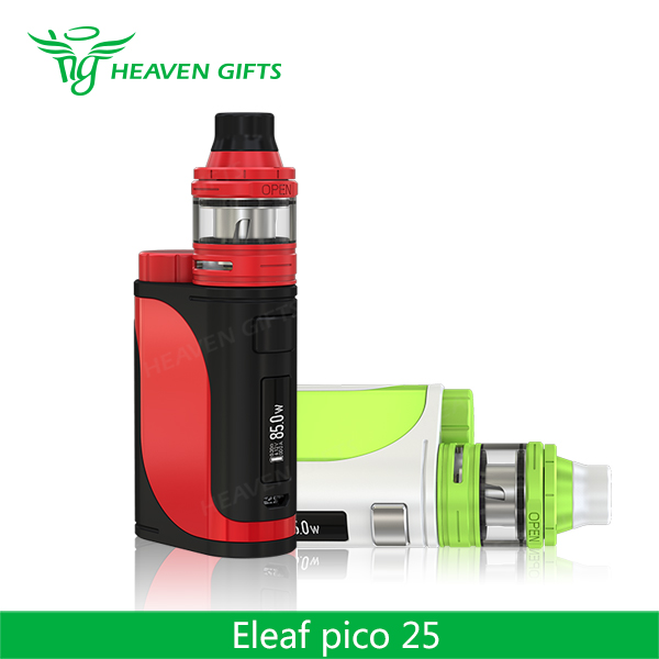 HeavenGifts Present Newest 2ml ELLO Tank 85W E leaf iStick Pico 25 Kit e cigarette health
