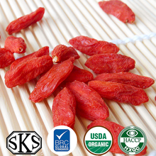 larger and juicy dried organic goji berry bulk with mixed sizes