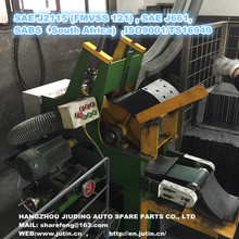 The best used brake lining machine of ISO9001 Standard