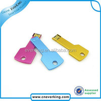 Cheap bulk 2GB 4GB key shape usb flash drive print your logo