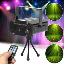 Stage light videos indoor led Mini Indoor LED light Club Gypsophila Laser Projector with stage light LED