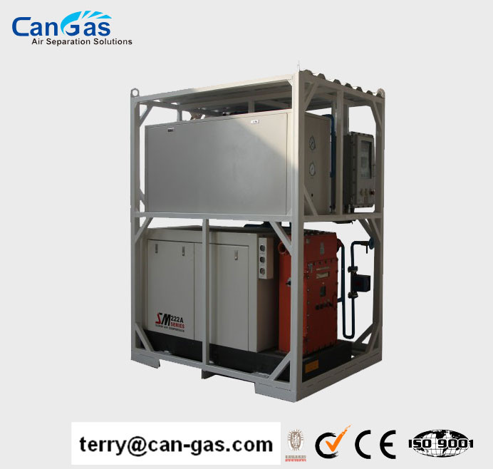 CANGAS High Quality Membrane Nitrogen/N2 Generator With Good Price