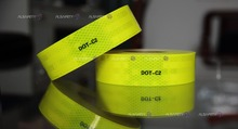 ACP100 fluorescent marking conspicuity adhesive tape for car