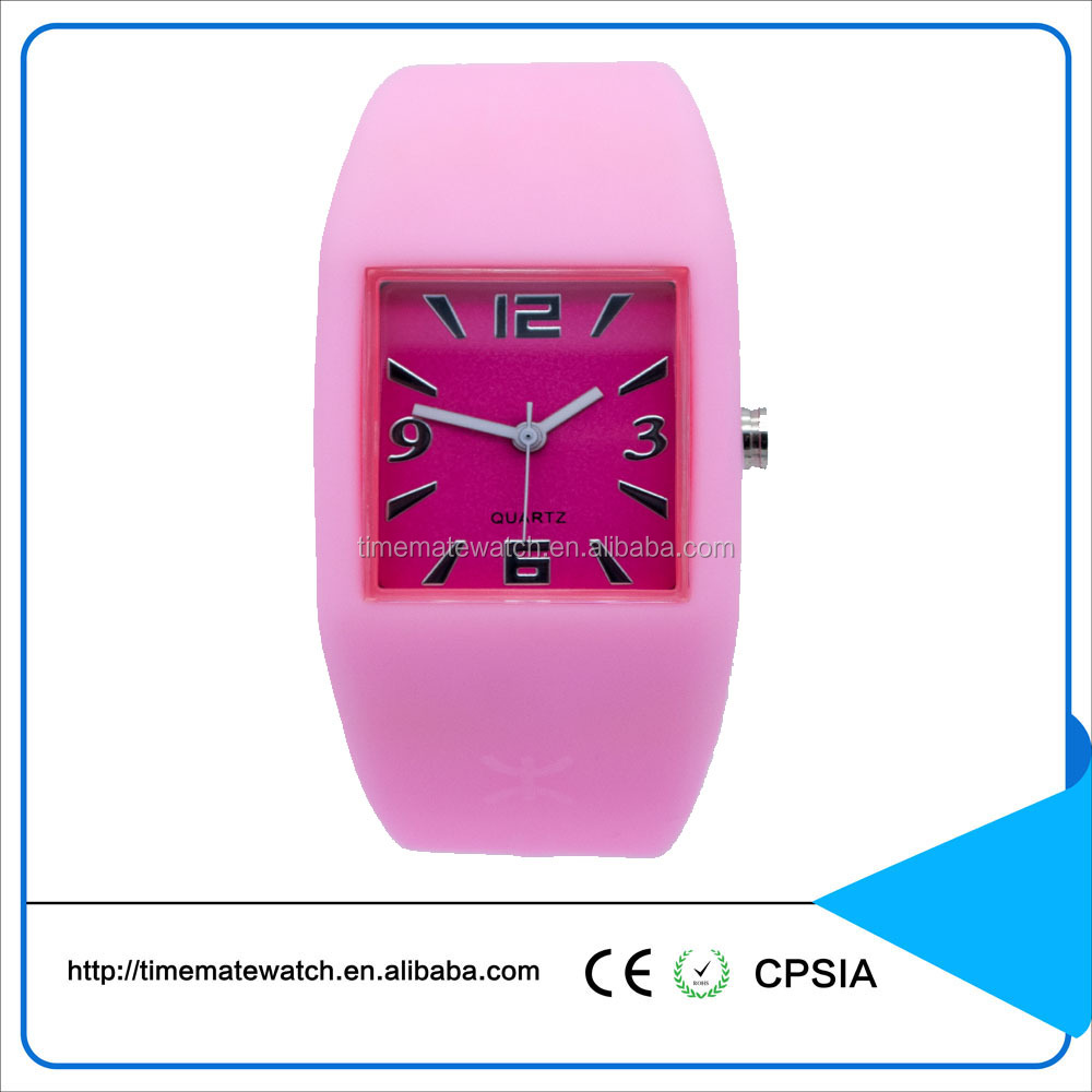 Fashion silicone watch belt Watch Silicone Promotional Swatchful Watch