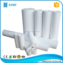 PP Spun Hollow Fiber Membrane Pleated Water Filter Cartridge for Water Purification