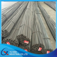 Concrete hot rolled HRB500 iron rod / deformed steel rebar