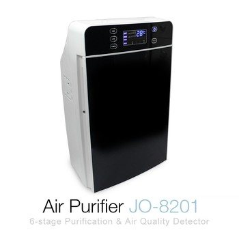 6-Stage Purification Smart Air Purifier JO-8201 ( HEPA Filter, Nano Silver, Activated Carbon, Low Temperature Catalyst )