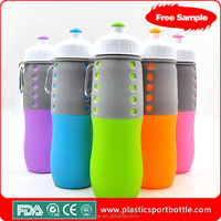 China Travel Silicone Bottle Wide Mouth Travel Bottles