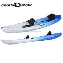 Family 2+1 wholesale boats kayak made in China from Ningbo manufacturer