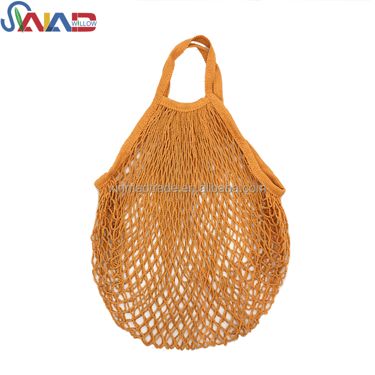 Reusable Grocery Cotton Net Mesh Shopping Fruit Tote Bag