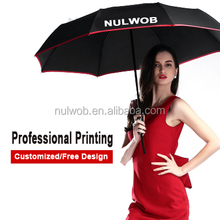 Promotion All Types of Custom Folding Umbrella with Advertising Logo Print Chinese Factory