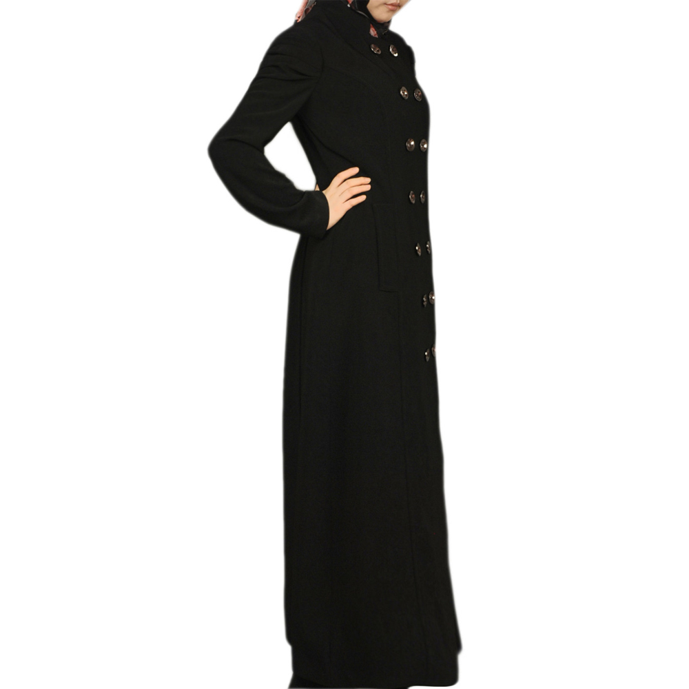 KJ-AM 43 button down muslim and mosest long coat