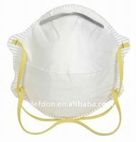 white color elastic band mining dust mask