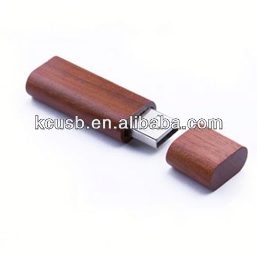 Eco-friendly wooden usb drive logo download data