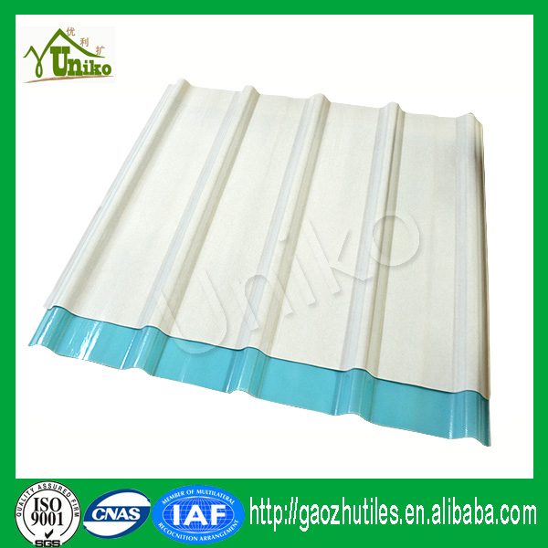 Fiber Reinforce Plastic/ FRP Lighting sheet/ transparent corrugated roofing