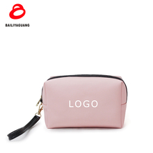 2018 PU Leather cosmetic pouch Only 300pcs MOQ with custom service cosmetic bag