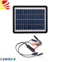 Hot sale 18V Solar Car Battery Charger 6W Portable Panel 12V car battery charger