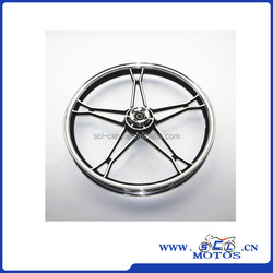 SCL-2012030588 GN125 import motorcycle aluminum wheel for suzuki spare parts
