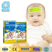 Free Samples 2017 New Health Care products Fever Cooling Gel Pad For Baby